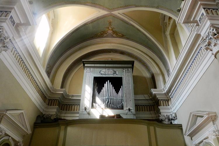 Chiesa di San Martino, organo ottocentesco, Silvia Cesari, 2018