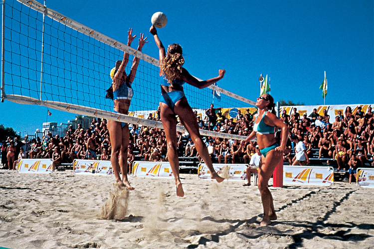 Beach volley, 2000